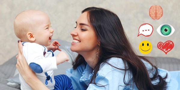 ¿Sabes qué pasa cuando le hablas a tu bebé?